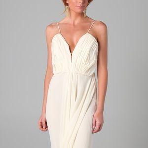 Katie Ermilio - Goddess Gown - Cream - 4